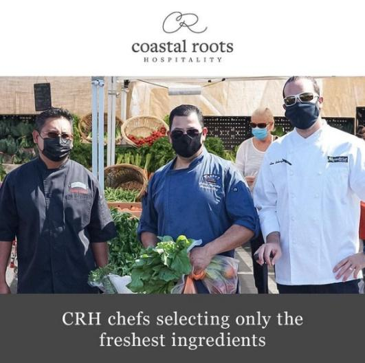 CRH Chefs selecting only the freshest ingredients.