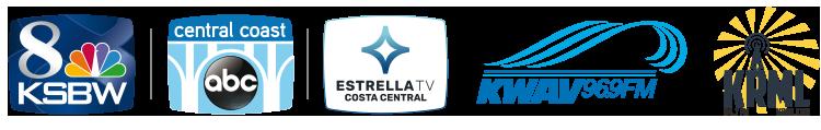 8-KSBW, Central Coast ABC, Estrella TV, KWAV 96.9 FM, KRML